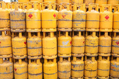 Domestic gas tanks Royalty Free Stock Photo