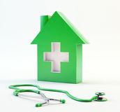 Domestic healthcare symbol Royalty Free Stock Images