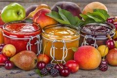 Domestic jam Stock Photo