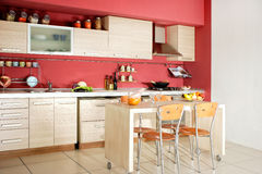 Domestic kitchen Stock Photography