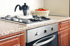 Domestic kitchen Royalty Free Stock Photos