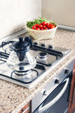 Domestic kitchen Royalty Free Stock Image