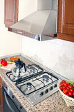 Domestic kitchen Royalty Free Stock Images