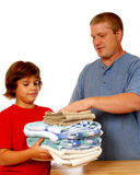 Domestic Laundry Team Stock Photo