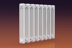 Domestic radiator Stock Image