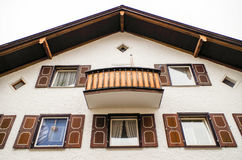 Domestic Revival Building in Oberstdorf, Germany Royalty Free Stock Images