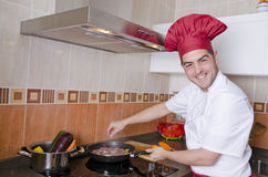 Domestic service chef Royalty Free Stock Photography