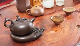 Domestic tea set Stock Photography