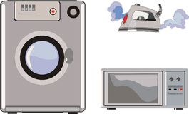 Domestic technics Stock Photo