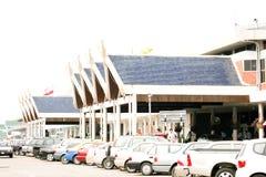 Domestic Terminal of Chiangmai  Airport Stock Image