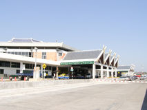 Domestic Terminal of Chiangmai  Airport Stock Photo
