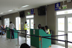 Domestic terminal in Male, Maldives Royalty Free Stock Photography