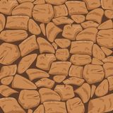 Stone Textured Background in Rusty Bronze Tone. This domestic uniform Stones background is a beautiful blend of Rust and Bronze brown undertone perfect for Stock Image