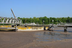 Domestic wastewater treatment in Les Mureaux Royalty Free Stock Images