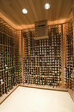 Domestic Wine Cellar Royalty Free Stock Photo