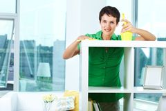 Domestic work Stock Photography