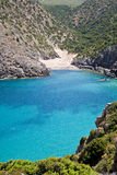 Domestica de Cala, Sardaigne, Italie Photographie stock libre de droits