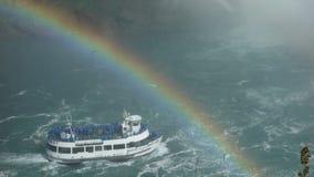 Domestica della foschia sul cascate del Niagara Immagine Stock