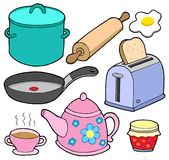 Domestics collection 1 Stock Images