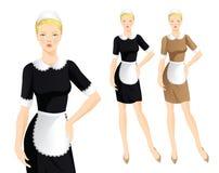 Domestique de femmes illustration stock