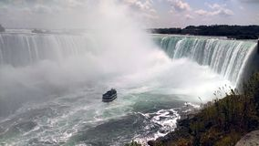 Domestique de la brume aux chutes du Niagara, Canada Photo stock