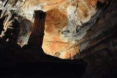 Domica grotta Arkivbild