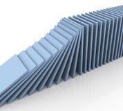 dominó 3d ilustração do vetor