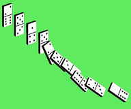 Dominós ilustración del vector