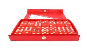 Dominós ou dominós ajustados Fotografia de Stock