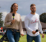 Domin Lever & Jessica Shears from Love Island Royalty Free Stock Photo