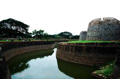 Dominant and evergreen fort of the great Tipu sultan Royalty Free Stock Image