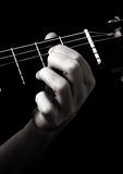 Dominant seventh chord (A7) Stock Photography