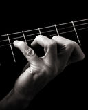 Dominant seventh chord (A7) Royalty Free Stock Image