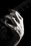 Dominant seventh chord (A7) royalty free stock images