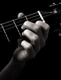 Dominant seventh chord (D7) Royalty Free Stock Photography