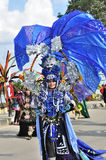 Dominated by the color blue and behind ornaments such as jellyfish Costume stock image
