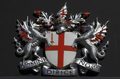 Domine dirige nos. London crest Stock Images