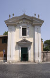 Domine Quo Vadis church on Appian Way, Rome Royalty Free Stock Photography