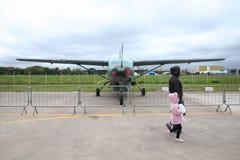 Domingo aéreo en el aeropuerto Campo de Marte fotos de archivo libres de regalías
