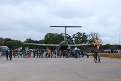 Domingo aéreo en el aeropuerto Campo de Marte foto de archivo libre de regalías