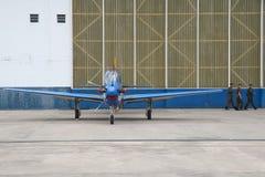 Domingo aéreo en el aeropuerto Campo de Marte imágenes de archivo libres de regalías