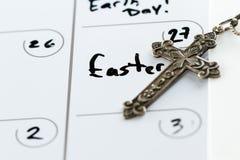 Domingo de Páscoa programado Imagens de Stock
