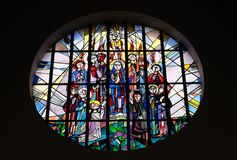 Domingo de Pentecostes, descida do Espírito Santo fotos de stock