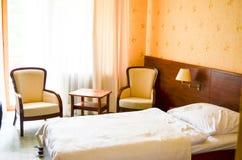 domingo hotellrumsanto Arkivfoto