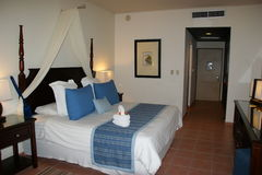 domingo hotellrumsanto royaltyfri bild