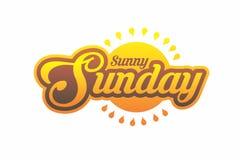 Domingo soleado Imagen de archivo libre de regalías