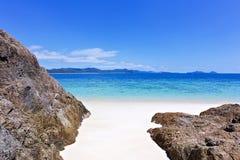 Domingos de Pentecostes Austrália da praia de Whitehaven Imagens de Stock