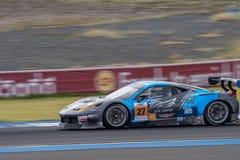Dominic Ang d'infini de connexion de la série de Le Mans d'Asiatique - course à Photographie stock libre de droits