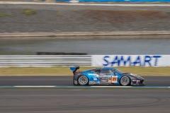 Dominic Ang ogniwo nieskończoność w azjata Le Mans seriach - rasa przy Obrazy Royalty Free