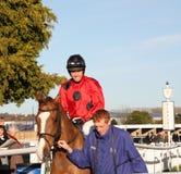 Dominic Elsworth, Jump Jockey Royalty Free Stock Photo